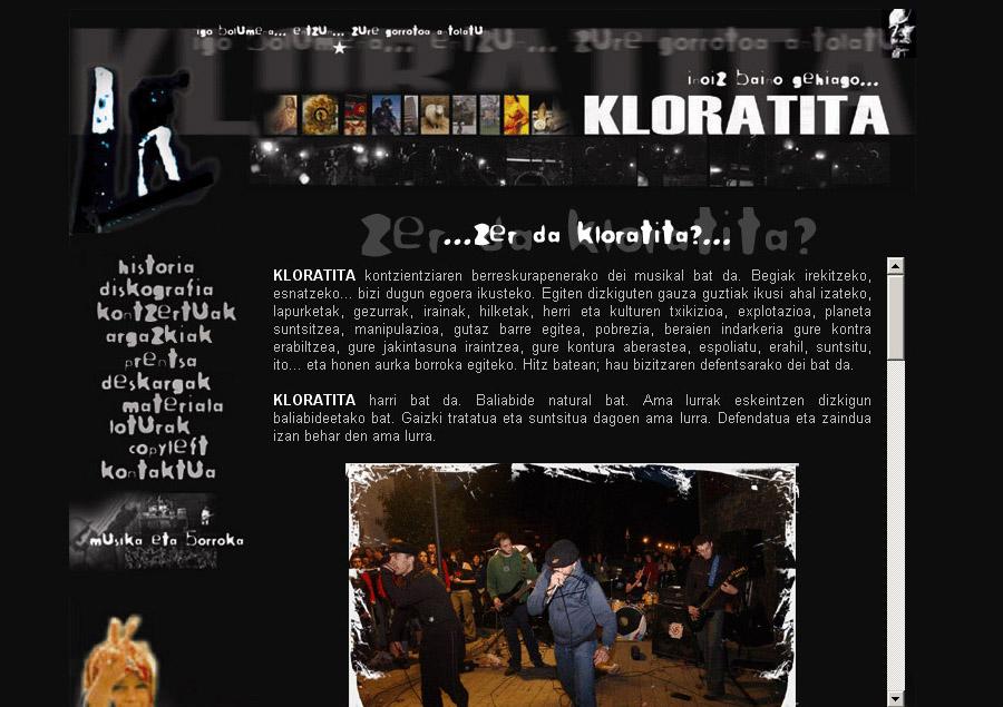Kloratita: web gunea [1.0]