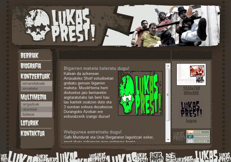 Lukas Prest!: web gunea
