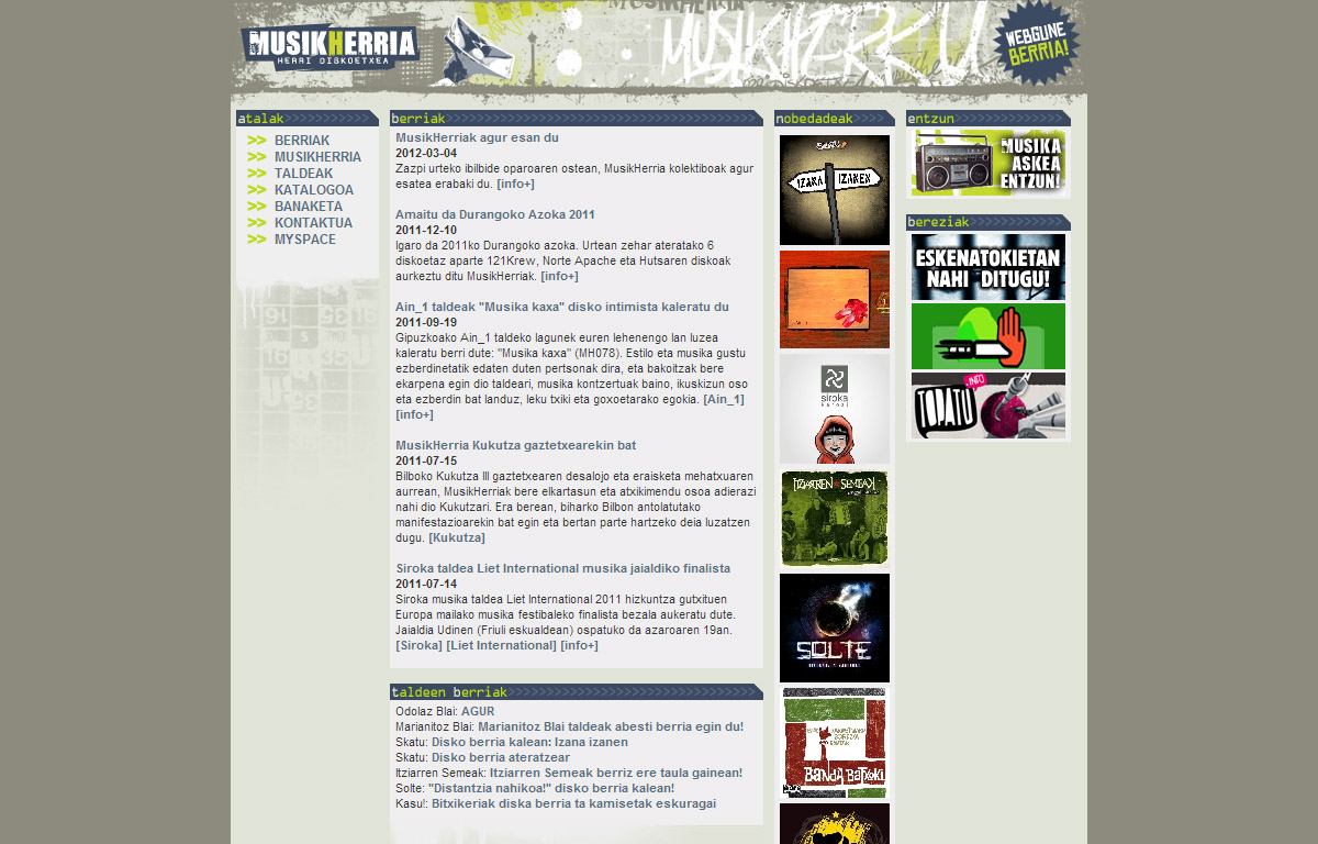 MusikHerria: página web [3.0]