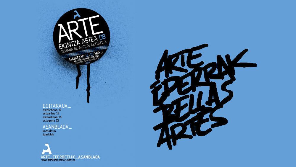 Arte Ekintza Astea 2008: web gunea