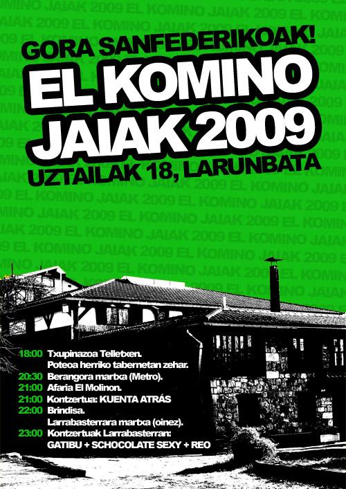 El Komino Jaiak: kartela
