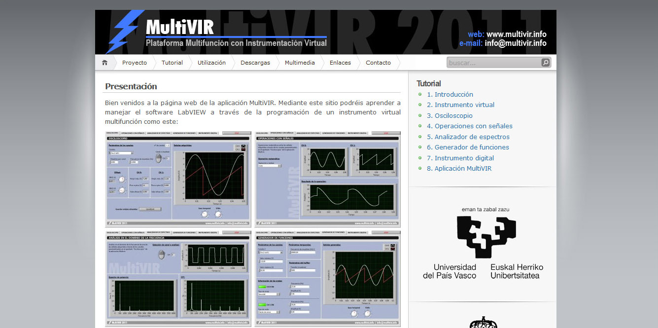 MultiVIR: web gunea