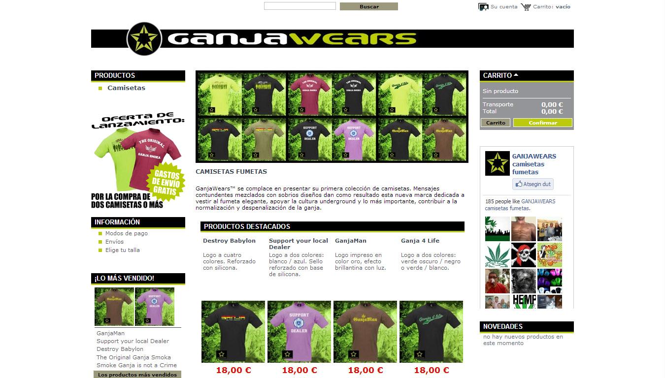 GanjaWears: online denda