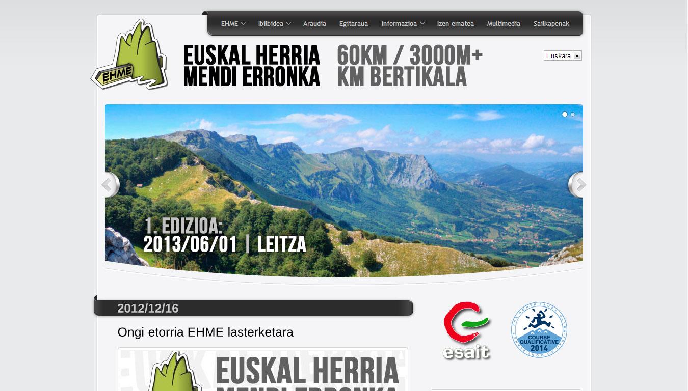EH Mendi Erronka: web gunea [1.0]