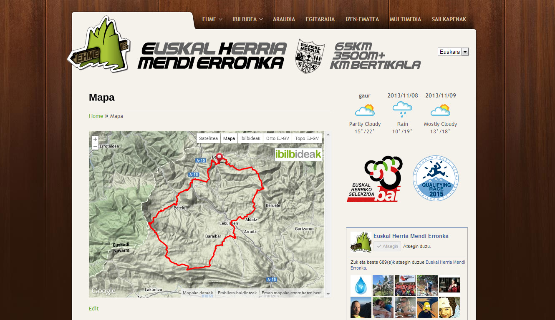 EH Mendi Erronka: web gunea [2.0]
