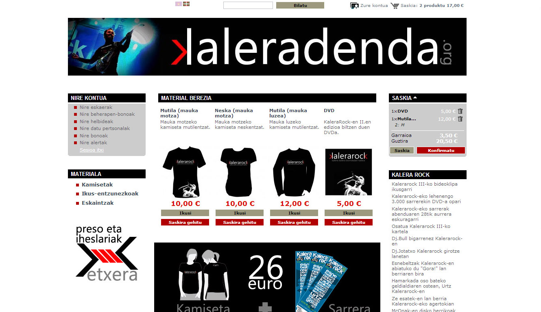 KaleraRock: online denda