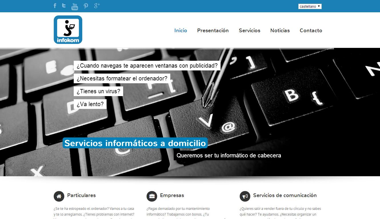 Infokom: web gunea