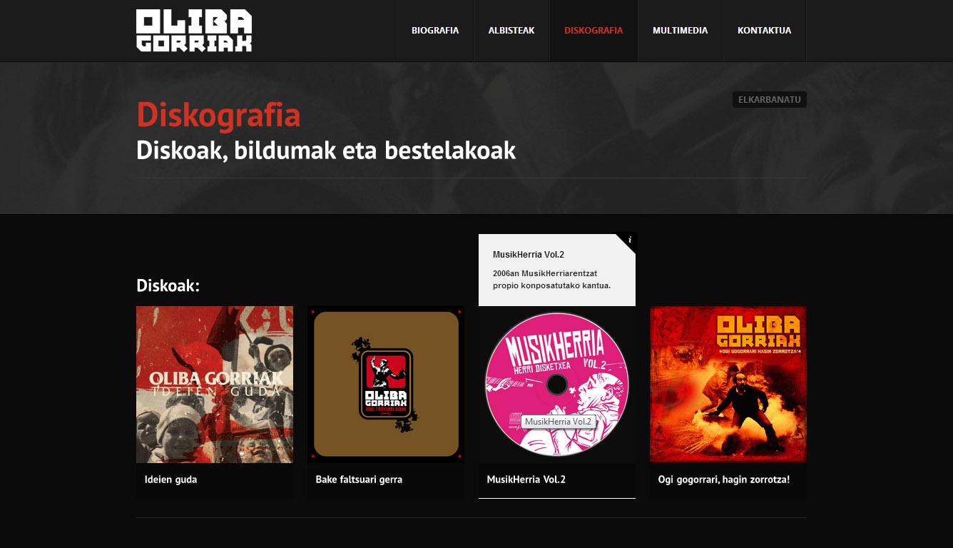 Oliba Gorriak: web gunea [3.0]
