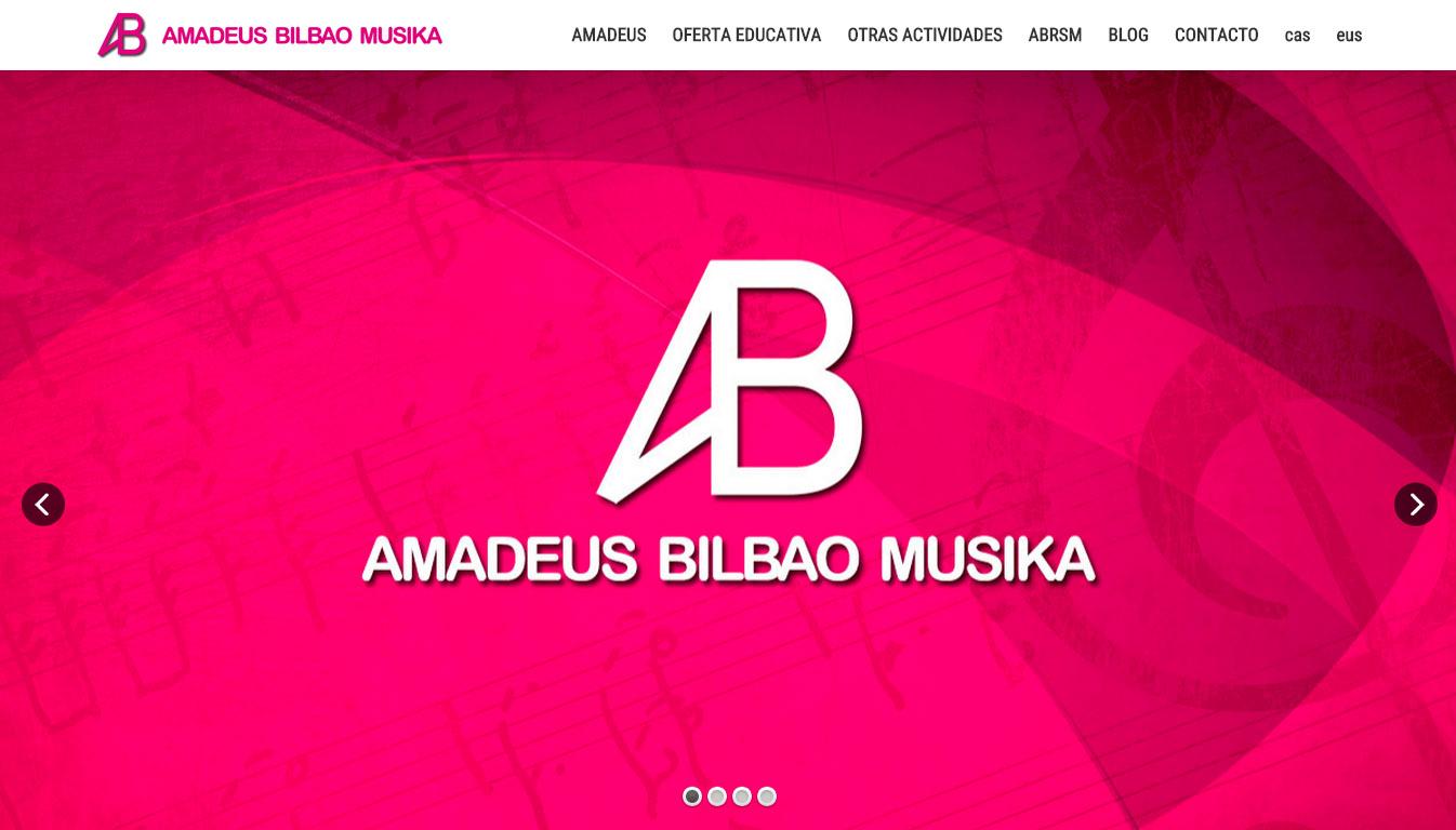 Amadeus  Bilbao  Musika:  web  orria