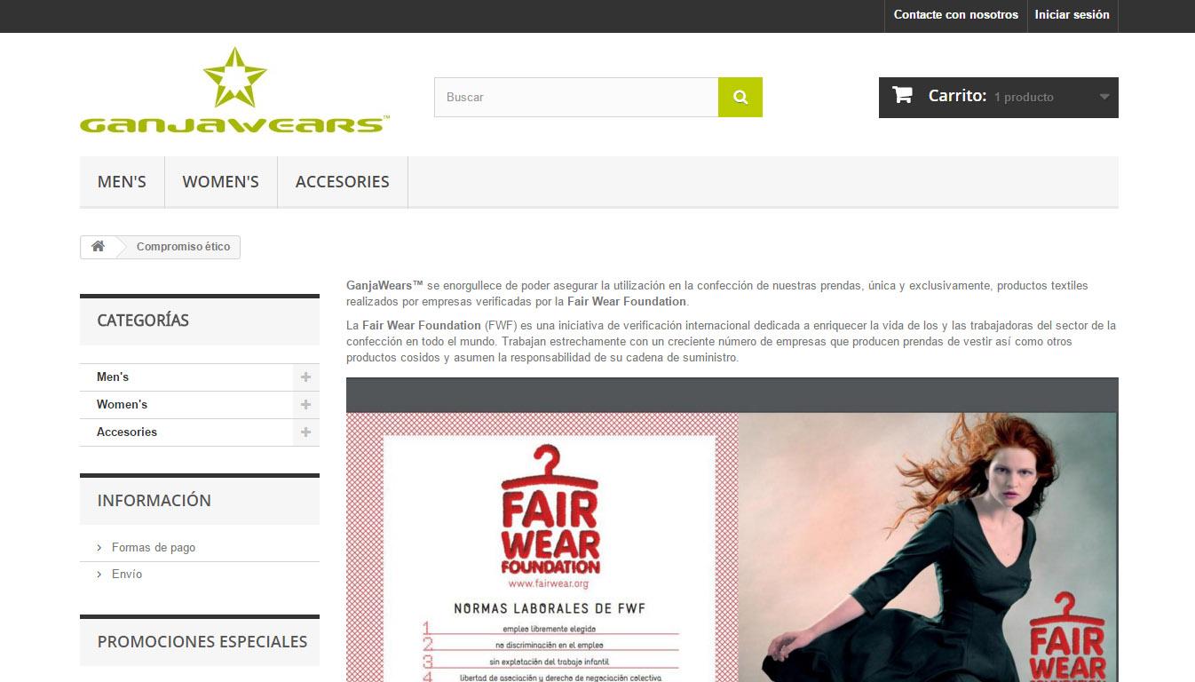 GanjaWears-en  online  denda  berritua  martxan  dago