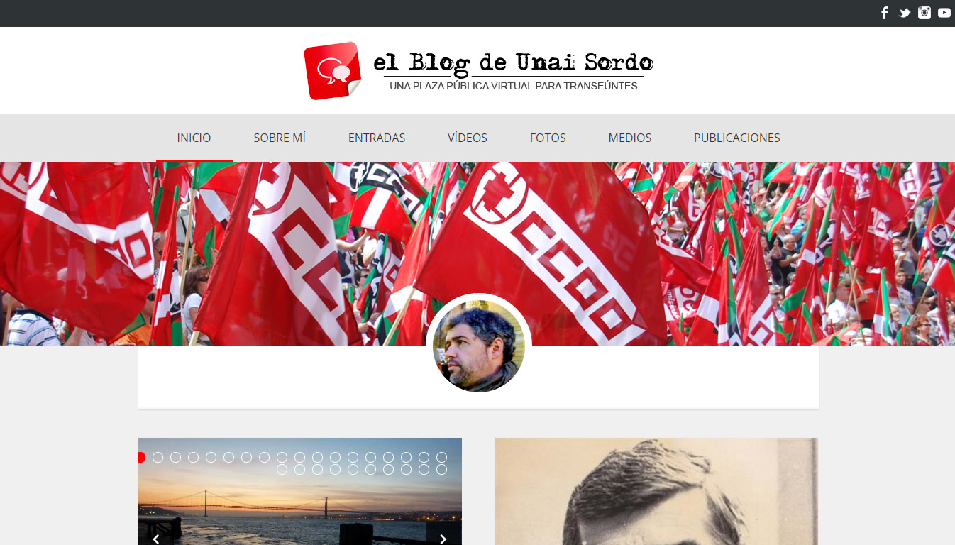 El blog nuevo de Unai Sordo