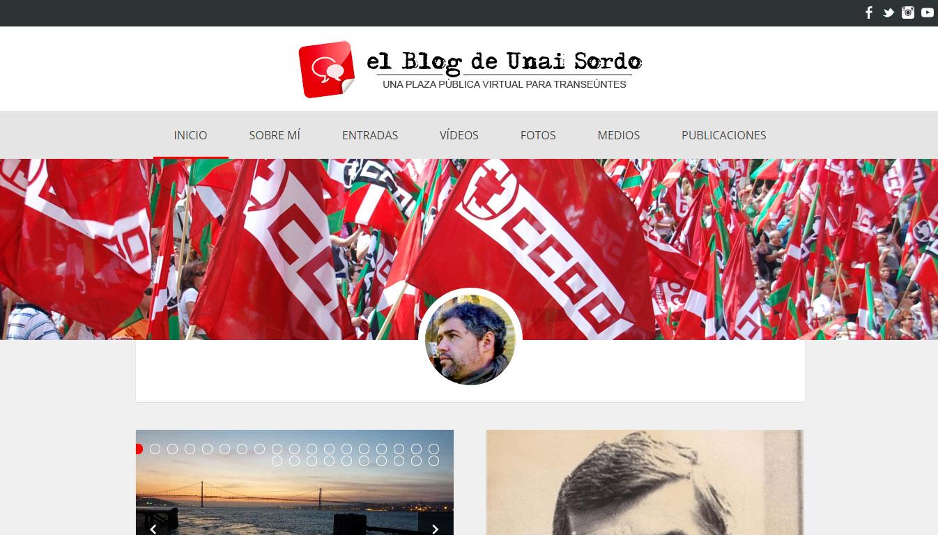 Unai  Sordo:  blog