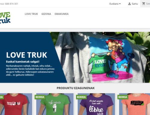 La tienda Love Truk ya tiene página web